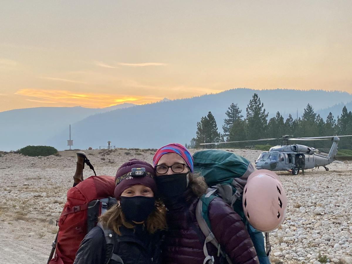 HIKERS RESCUED 1