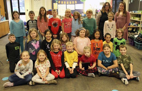 Mrs. LeClair's second-grade class