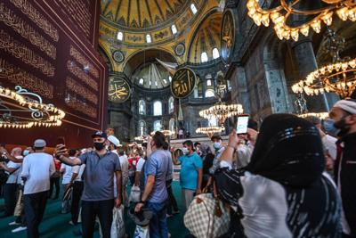 WORLD-NEWS-TURKEY-HAGIASOPHIA-GET