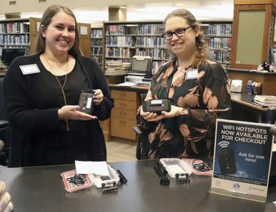 Libraries offer mobile hotspots for patrons