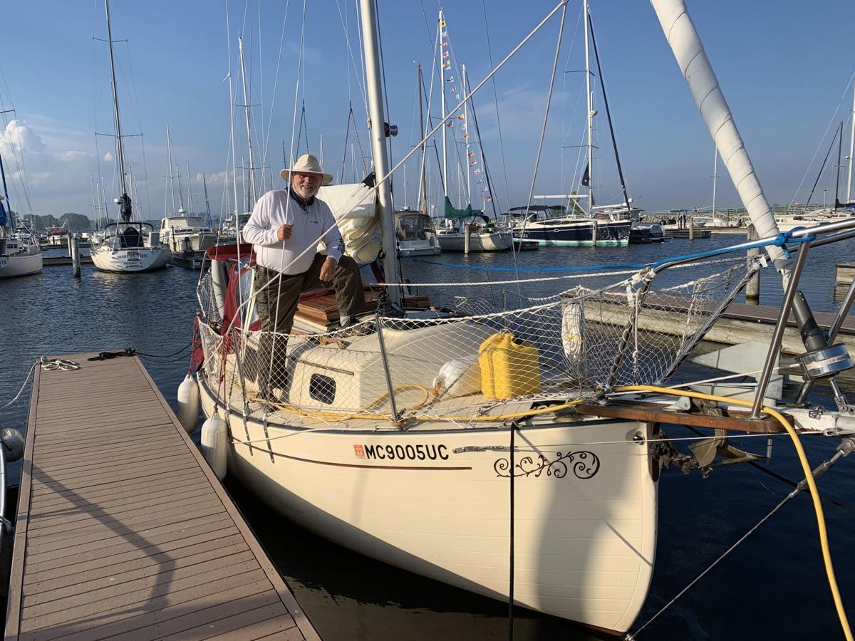 Michigan man sailing to raise awareness for incurable disease