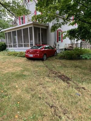 Distracted driver smashes into Allendale-area home, police say