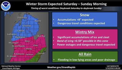 'Significant' winter storm possible this weekend