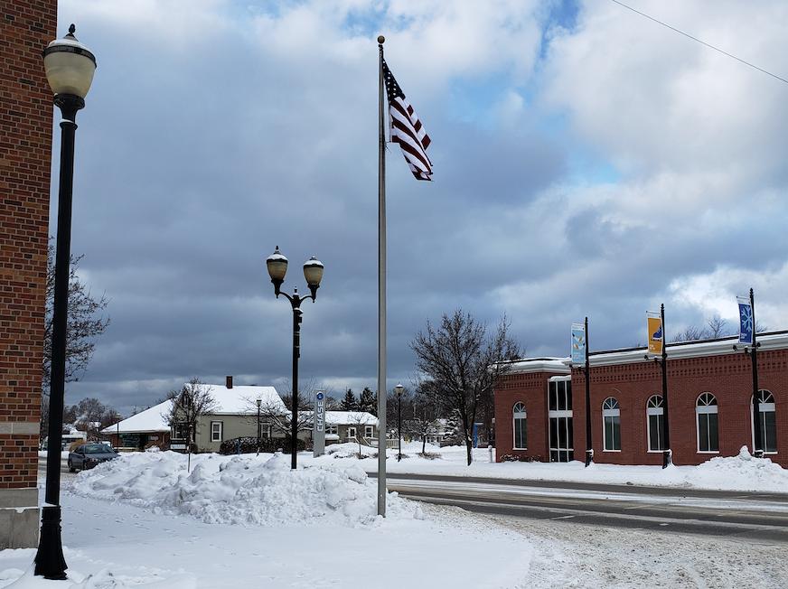 Village honors local Marine