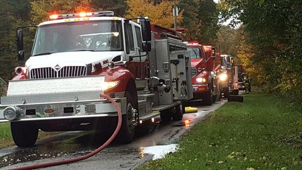 Kitchen fire causes heavy smoke damage