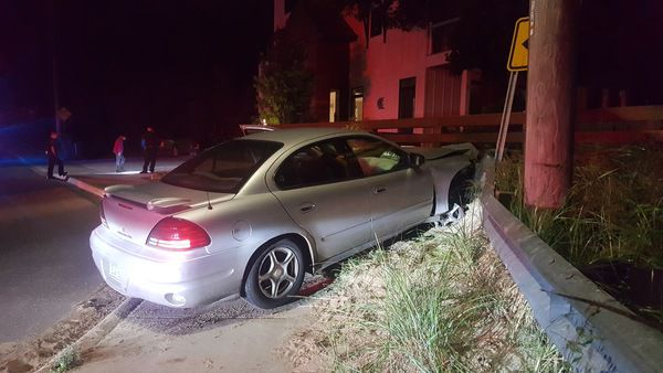 Women arrested after two crashes on Harbor Drive Monday night