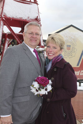 A wintery wedding