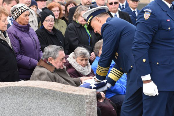 Coast Guard's last known recoverable POW/MIA laid to rest