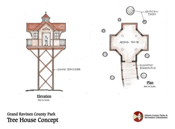 Grand Ravine Treehouse 2