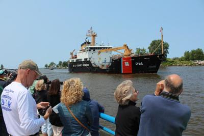 USCG cutter Hollyhock resets buoy-tending record