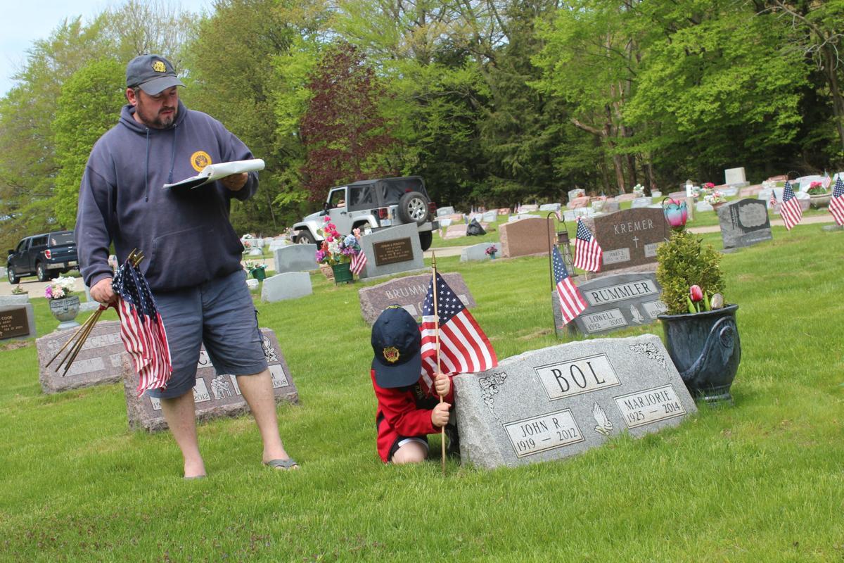 Veteran Flags 2