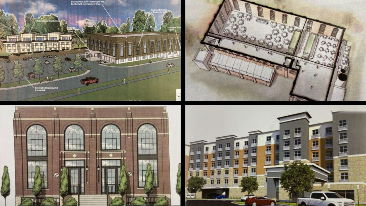 Proposals for reuse of old diesel plant include restaurant, 6-story hotel