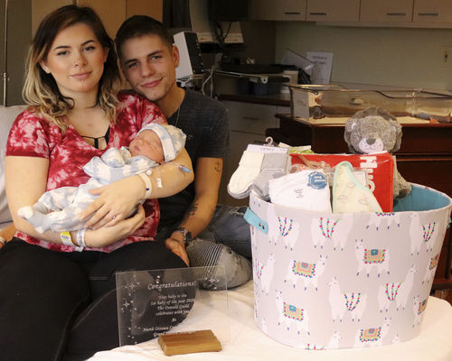 First baby of 2020 born at NOCH