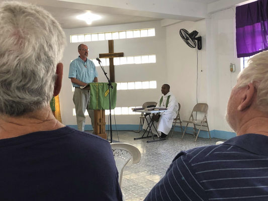 GH church joins fix-up mission in Jamaica