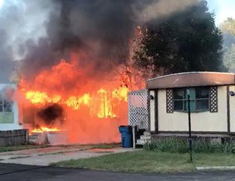 1 Crockery Mobile Home fire Chayce photo
