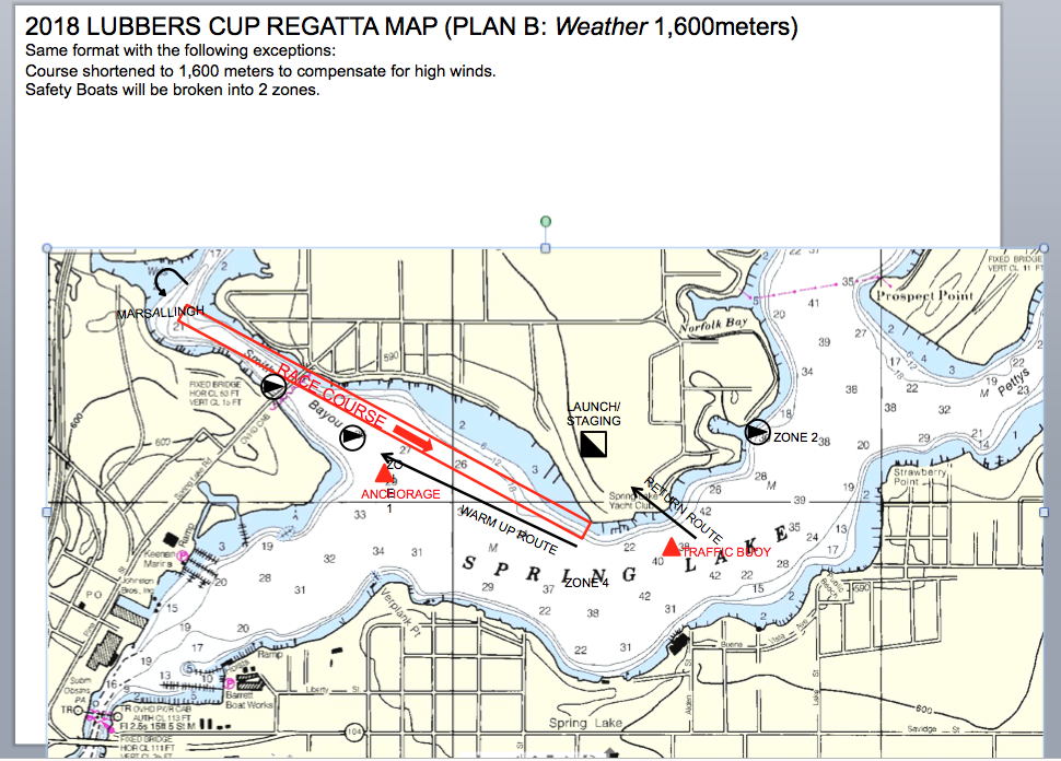 Course change announced for rowing regatta