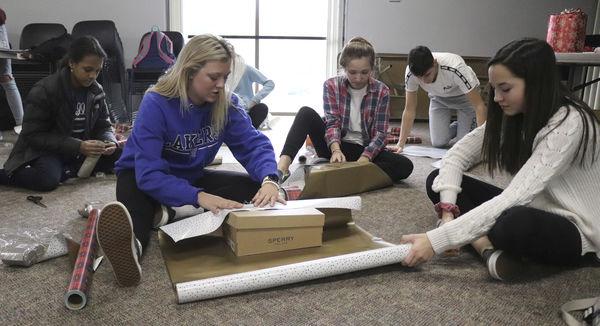 Project Grace nets school record