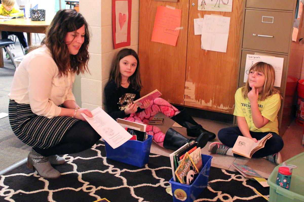 Reading efforts highlighted at Peach Plains