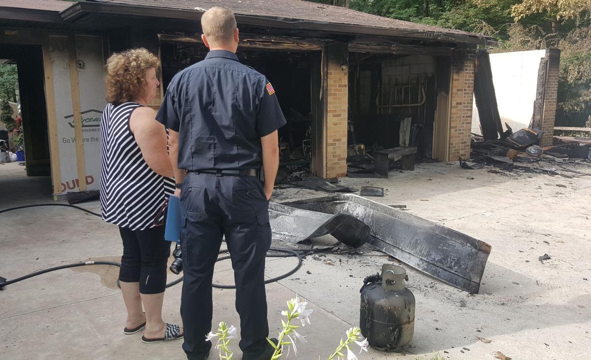 2 SL Garage Fire