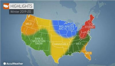 2019 US winter forecast