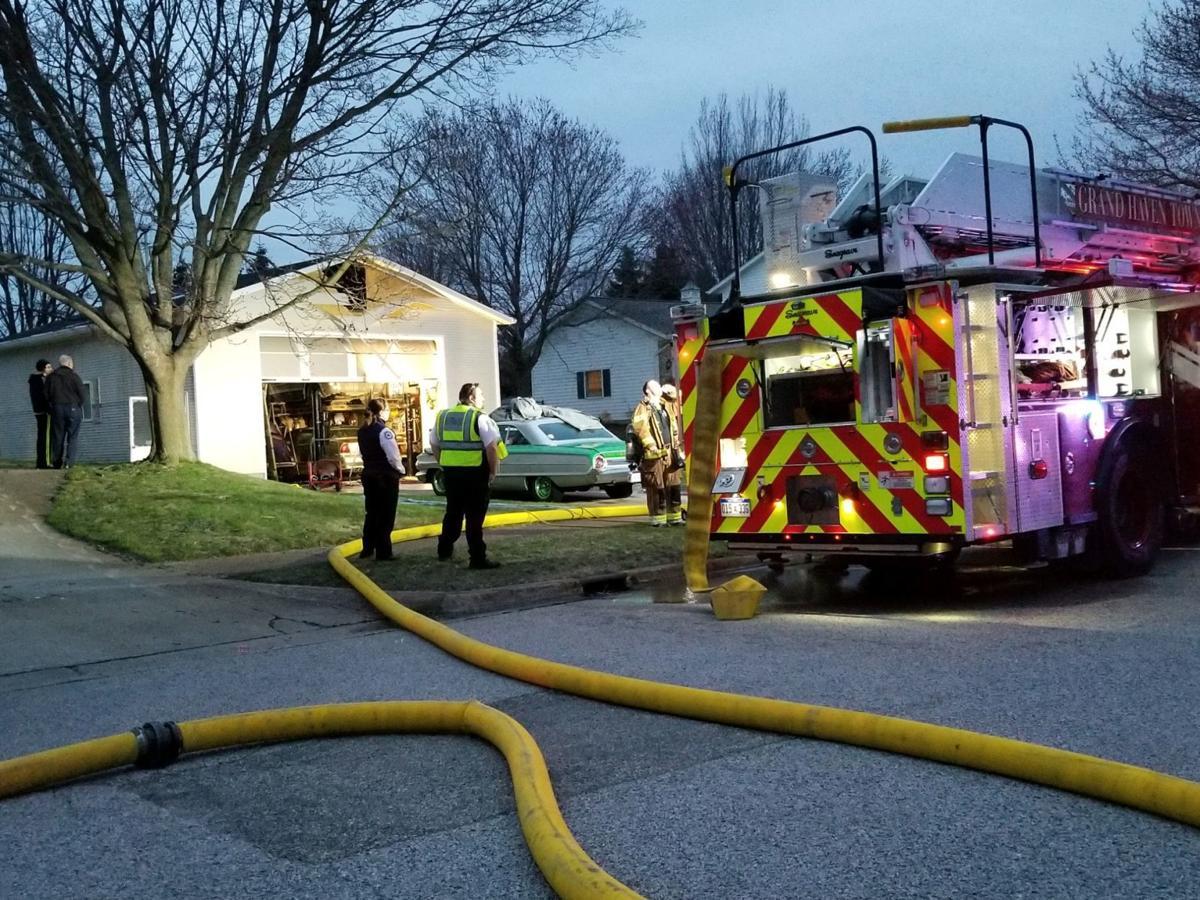 1 garage fire