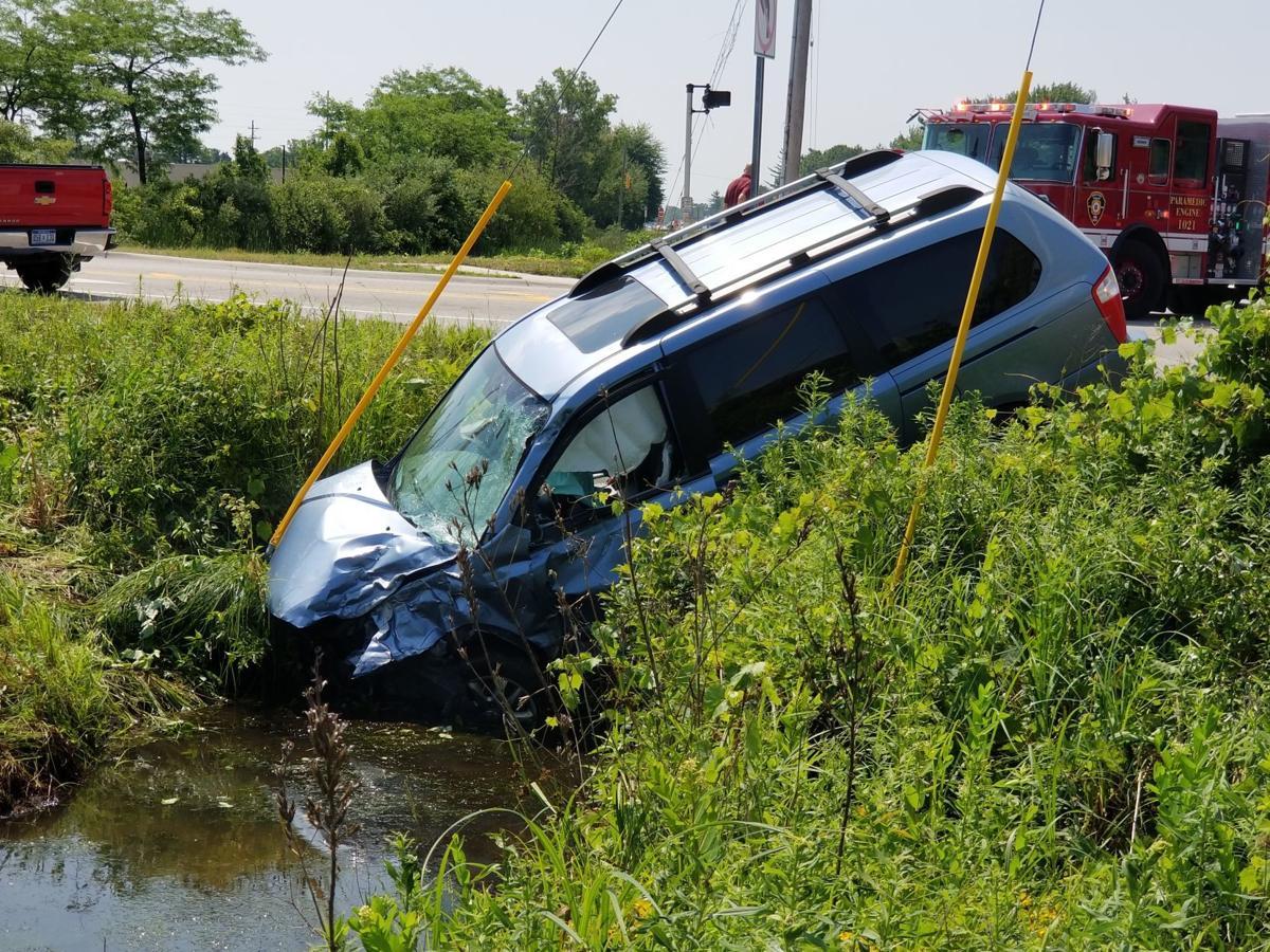 1 Hayes crashes