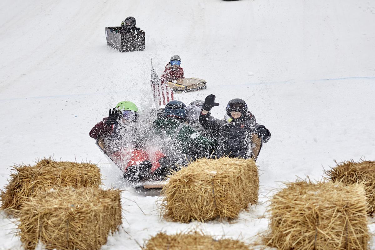2 Winterfest Sledrace