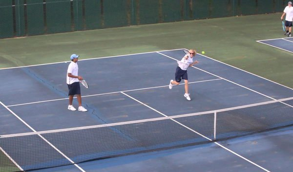 Rant's win caps narrow victory for GH tennis