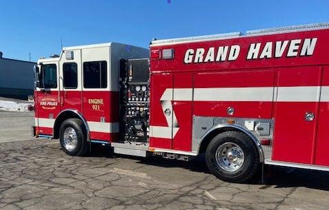 1 new GHDPS fire truck 2021 pumper