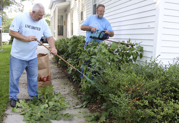 Volunteers take part in Day of Caring