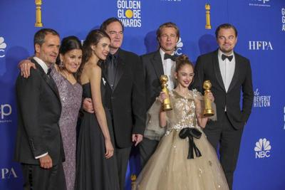 '1917,' 'Once Upon a Time... in Hollywood' win Golden Globes