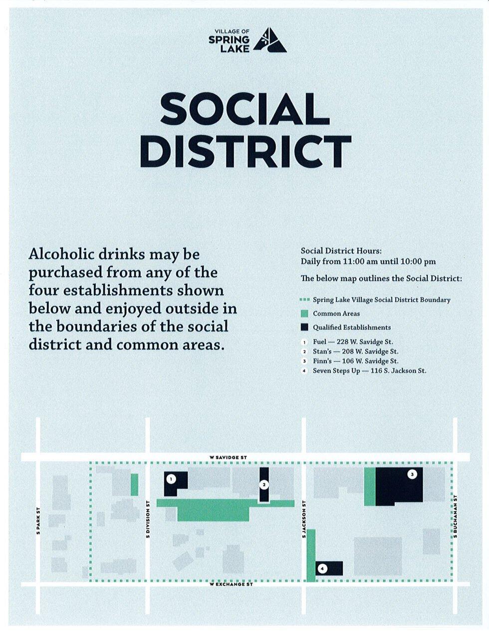 Social District map