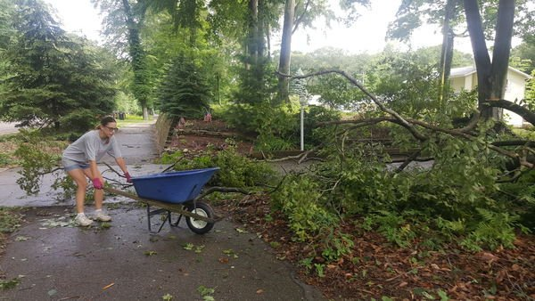 Storm damage isolated to Grand Haven Twp.