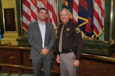 Ottawa County sheriff attends Capitol 9/11 ceremony