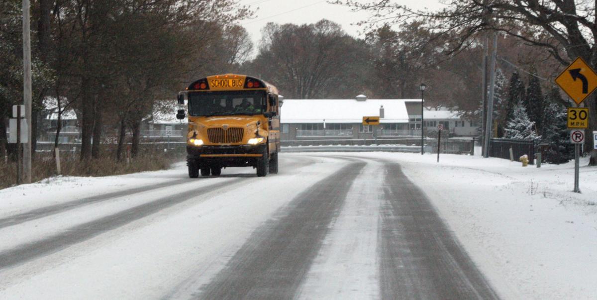 Weather school bus