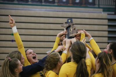 Grand Haven volleyball hits the court running during first week of practice