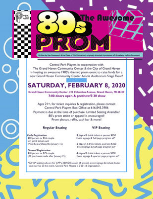 '80s show, fundraiser planned for Feb. 8