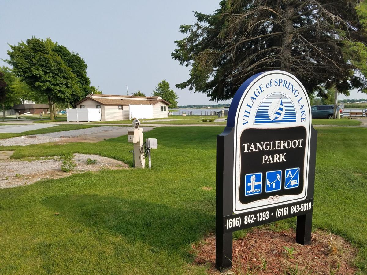 1 TANGLEFOOT Park campaign