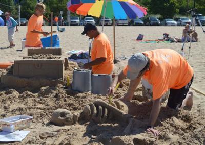 1 Sand Sculpture Contest still on