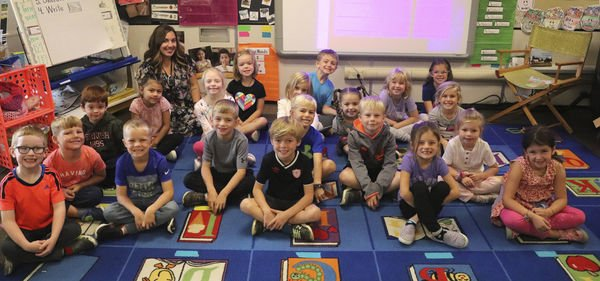 Meet Miss Ball's kindergarten class