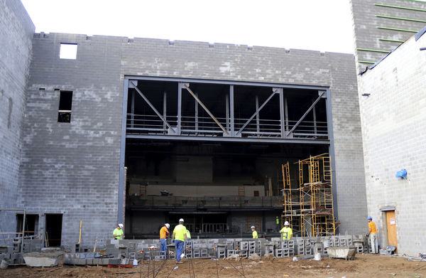 Construction on schedule