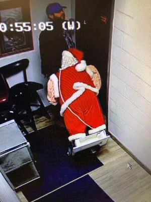 Santa stolen from GH Eagles following Jingle Bell Parade