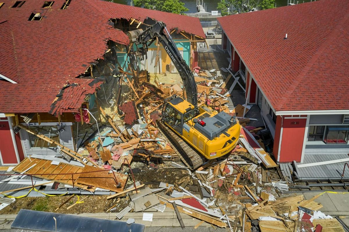 1 Chinook Pier demolished