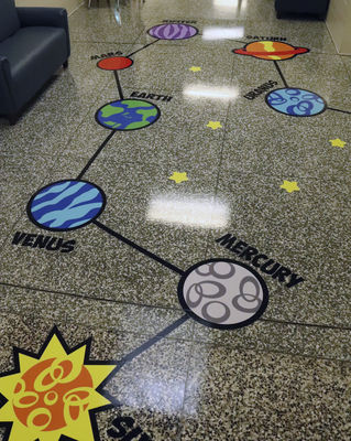 Sensory path installed at GH school