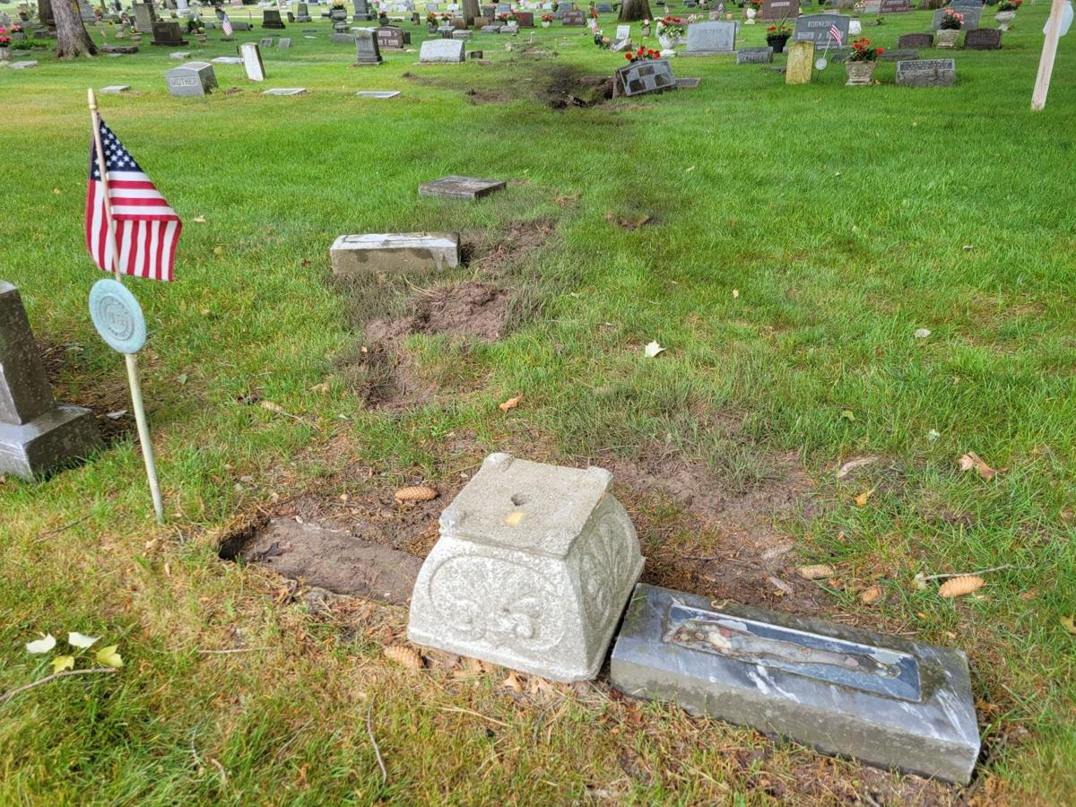 Cemetery Crash 1