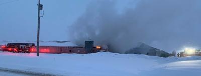 turkey farm fire