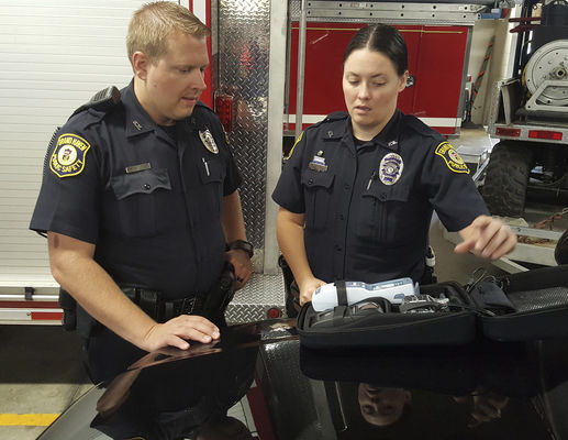 Local agencies involved in second phase of roadside drug testing