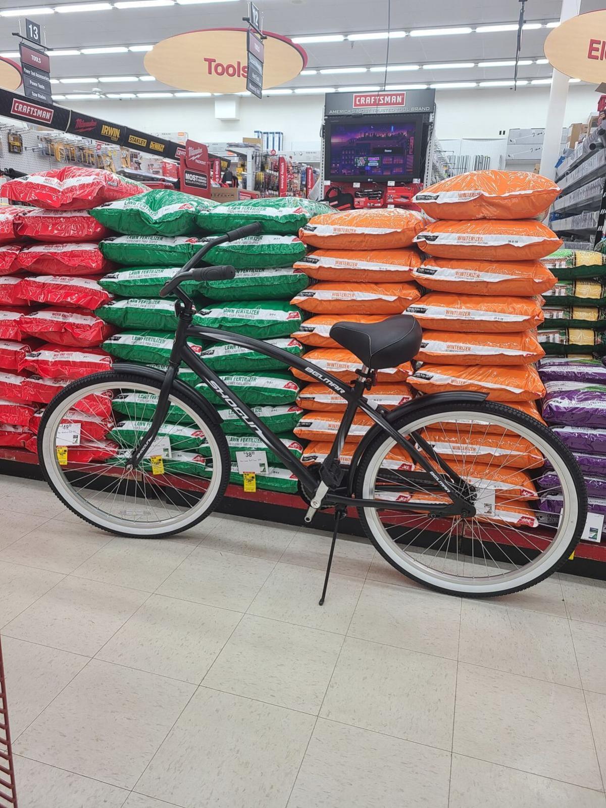 Egg hunt bike prize