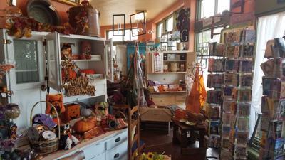 Antique shop in Valley Falls
