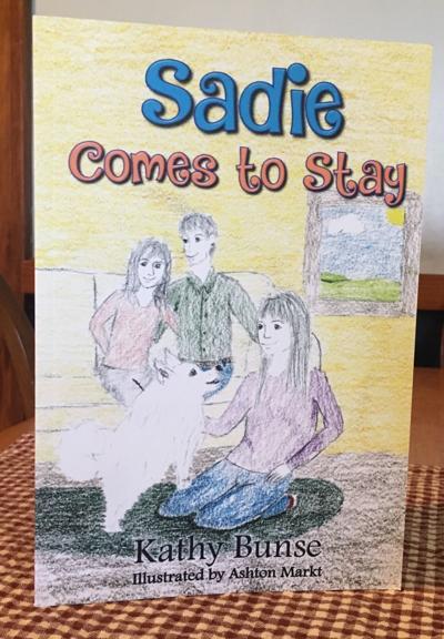 Author, illustrator partner for children's book